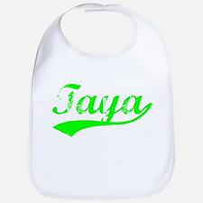 Vintage Taya (Green) Bib