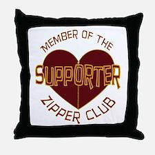 Supporter Throw Pillow