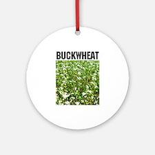 Buckwheat Ornament (Round)