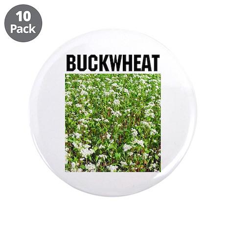 """Buckwheat 3.5"""" Button (10 pack)"""