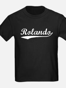 Vintage Rolando (Silver) T