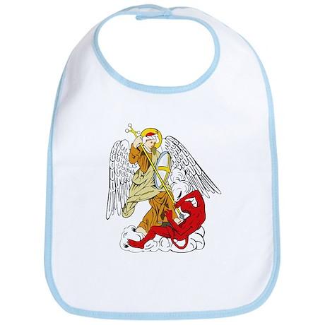 St. Michael and Satan Bib