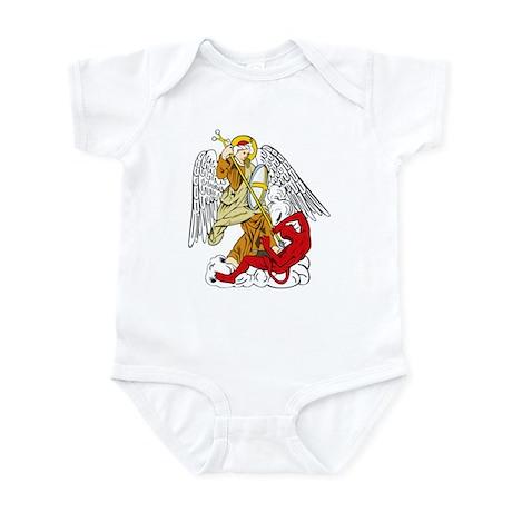 St. Michael and Satan Infant Creeper