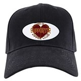 Heart surgery zipper club Baseball Cap with Patch