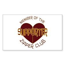 Supporter Rectangle Sticker 10 pk)