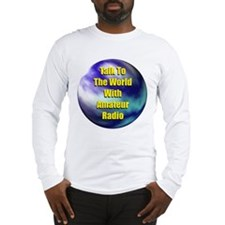 Talk To The World Long Sleeve T-Shirt