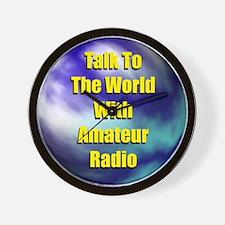 Talk To The World Wall Clock