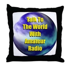 Talk To The World Throw Pillow