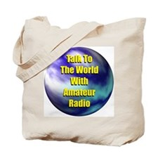 Talk To The World Tote Bag