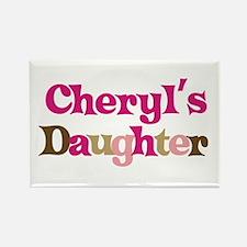 Cheryl's Daughter Rectangle Magnet