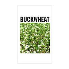 Buckwheat Rectangle Decal