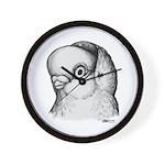 Reinaugen Pigeon Wall Clock