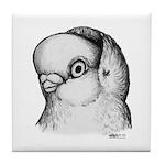 Reinaugen Pigeon Tile Coaster