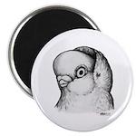 "Reinaugen Pigeon 2.25"" Magnet (10 pack)"