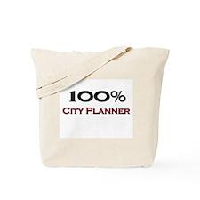 100 Percent City Planner Tote Bag