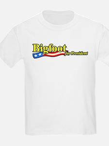 Bigfoot For President T-Shirt