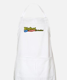 Bigfoot For President BBQ Apron