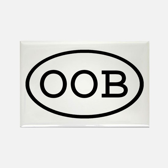 OOB Oval Rectangle Magnet