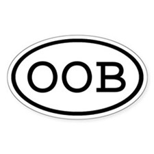 OOB Oval Oval Decal