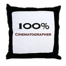 100 Percent Cinematographer Throw Pillow