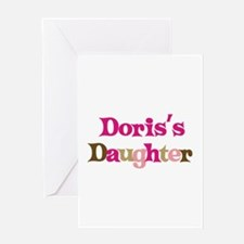 Doris's Daughter Greeting Card