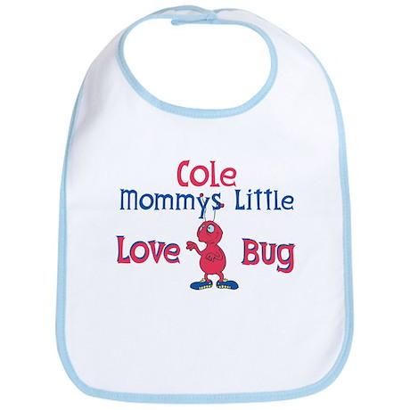 Cole - Mommy's Love Bug Bib