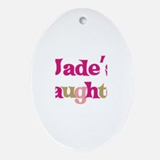 Jade's Daughter Oval Ornament