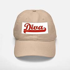 Diva Baseball Baseball Cap
