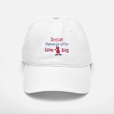 Declan - Mommy's Love Bug Baseball Baseball Cap