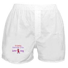 Arianna - Mommy's Love Bug Boxer Shorts