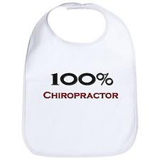 100 Percent Chiropractor Bib