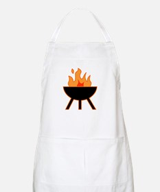 Flaming BBQ Barbecue Summer BBQ Apron