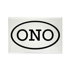 ONO Oval Rectangle Magnet