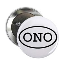 "ONO Oval 2.25"" Button (10 pack)"