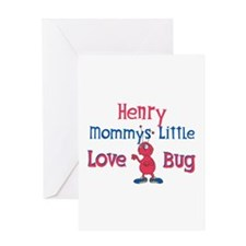 Henry - Mommy's Love Bug Greeting Card