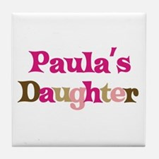 Paula's Daughter Tile Coaster