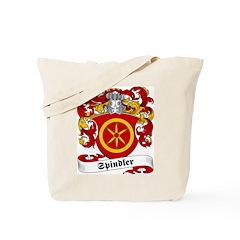 Spindler Family Crest Tote Bag