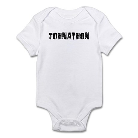 Johnathon Faded (Black) Infant Bodysuit