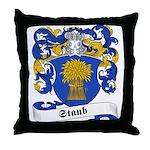 Staub Family Crest Throw Pillow