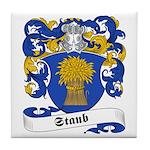 Staub Family Crest Tile Coaster