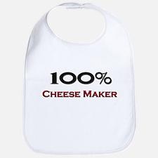 100 Percent Cheese Maker Bib