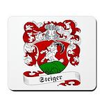 Steiger Family Crest Mousepad