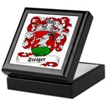Steiger Family Crest Keepsake Box