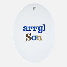 Darryl's Son Oval Ornament