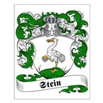 Stein Family Crest Small Poster