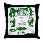 Stein Family Crest Throw Pillow