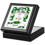 Stein Family Crest Keepsake Box