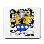 Steinbock Family Crest Mousepad