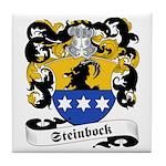 Steinbock Family Crest Tile Coaster