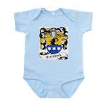 Steinbock Family Crest Infant Creeper